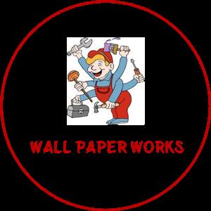 wall paper work in Navi Mumbai